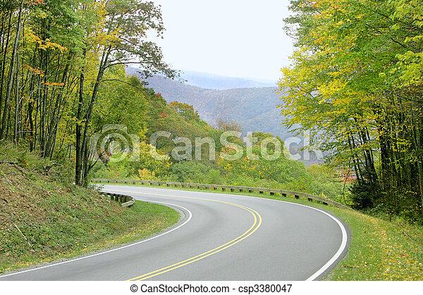 green scenery - csp3380047