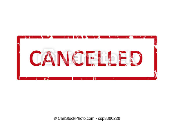 Cancelled stamp - csp3380228