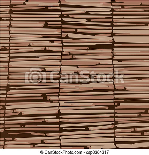 Texture As wooden curtains and organic material. - csp3384317