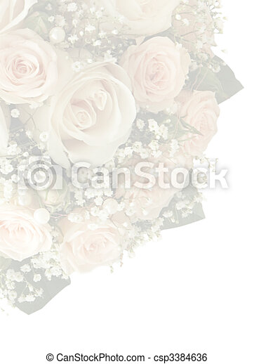 Stock Photo Wedding card with place for your text