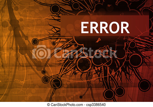 Error Security Alert - csp3386540