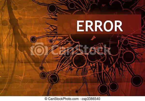 Error Security Alert - csp3386540