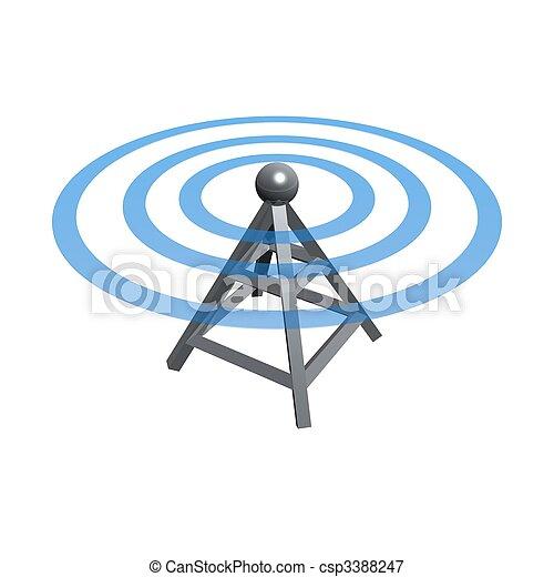 Wireless tower - csp3388247