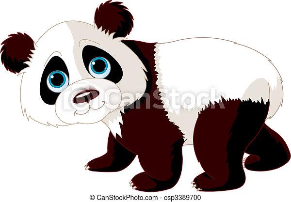 Walking Panda - csp3389700