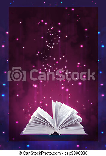 Magic book - csp3390330