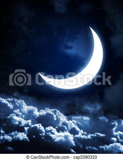 Moon - csp3390333