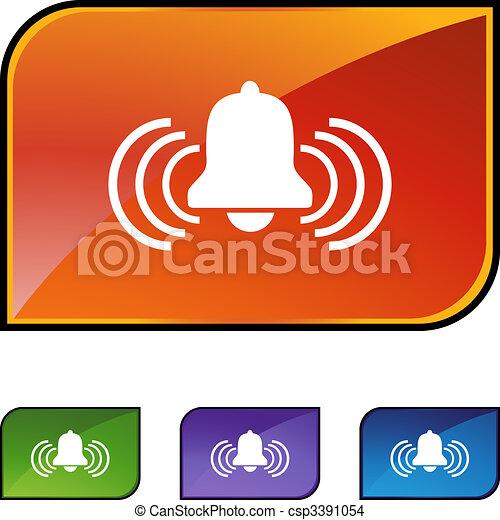 Alert Bell - csp3391054