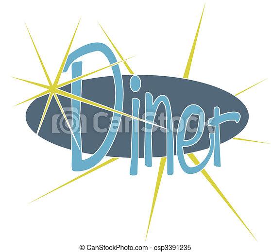 Diner - csp3391235