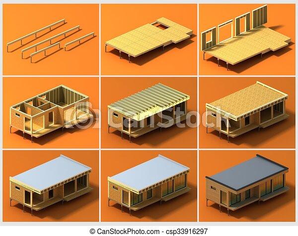 Stock De Ilustraciones De Etapas Construcci N Etapas