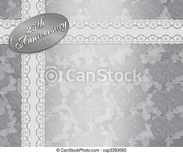 25th wedding anniversary Illustrations and Clip Art. 201 25th ...
