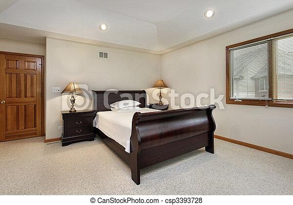 Photo chambre coucher plateau plafond image for Plafond de chambre a coucher
