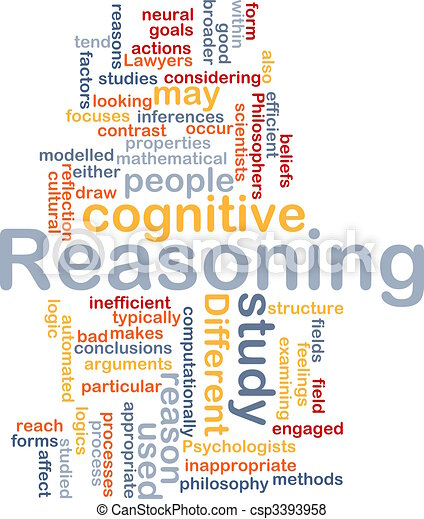 Cognitive reasoning background concept - csp3393958