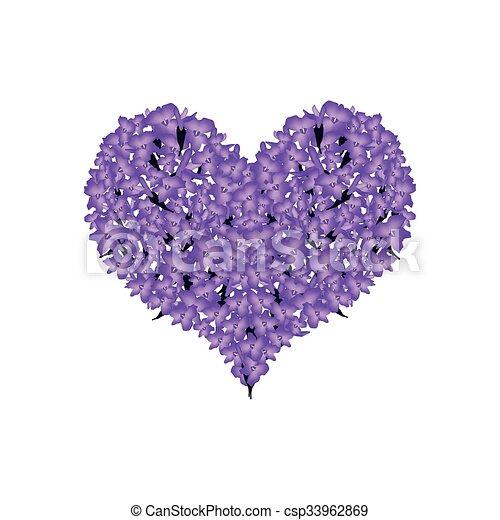 clip art vektor von sch ne herz form lavendel violett. Black Bedroom Furniture Sets. Home Design Ideas