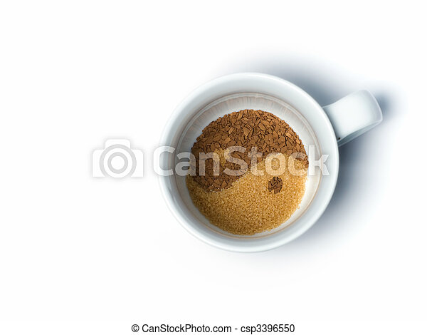 Coffe and sugar - csp3396550