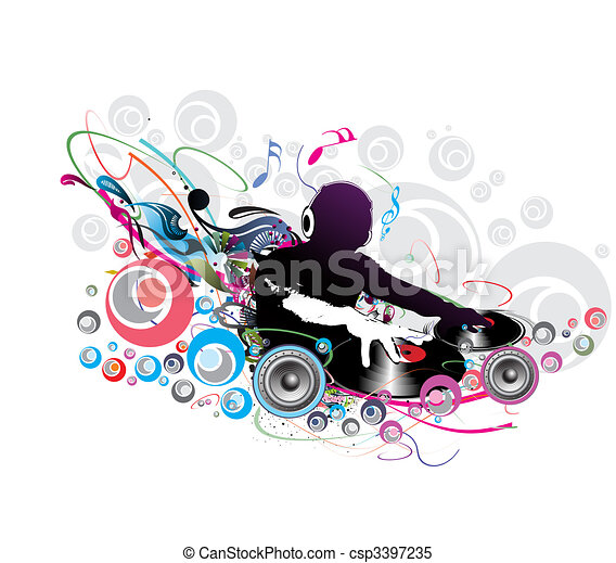 dj background image