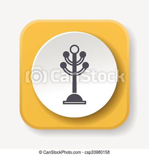 Kleiderständer clipart  Clipart Vektor von kleiderständer, ikone csp33980158 - Suchen Sie ...