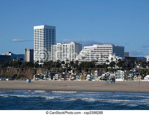 Southern California Coast - csp3398288