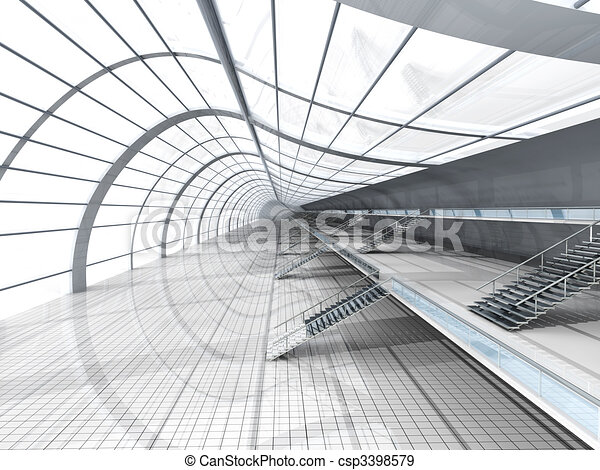 Airport Architecture - csp3398579