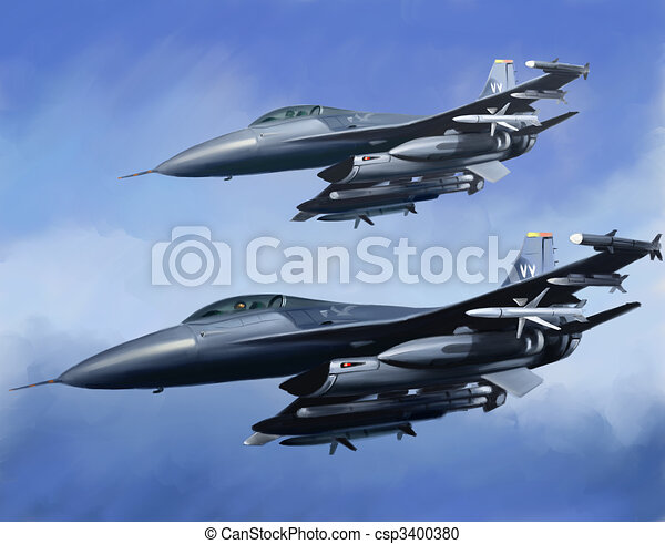 Jet Fighters - csp3400380