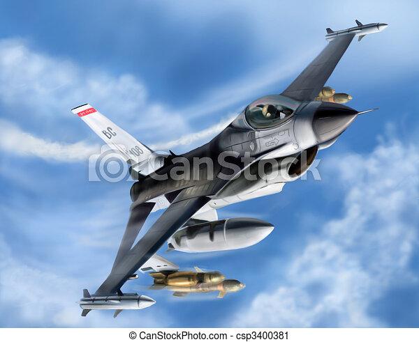 Jet Fighter - csp3400381