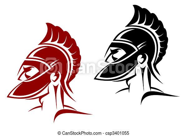 Ancient warrior - csp3401055