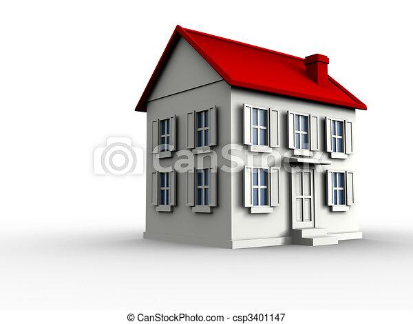 House - csp3401147
