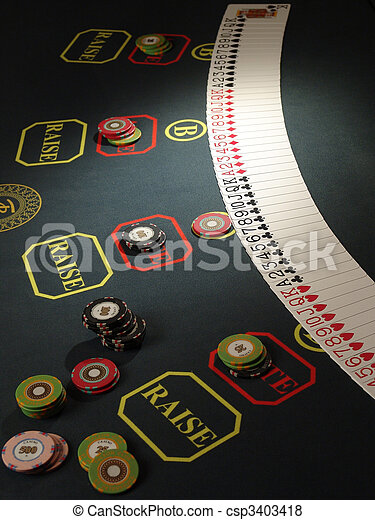 Gambling chips - csp3403418