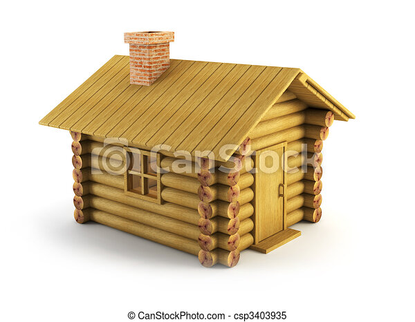 Clip Art Log Cabin Clipart cabin clipart and stock illustrations 7921 vector eps wooden log house isolated 3d rendering
