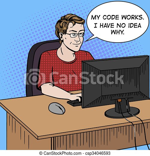 the work of a software developer A programmer, developer, dev, coder, or software engineer is a person who creates computer software the term computer programmer can refer to a specialist in one area of computers or to a generalist who writes code for many kinds of software.