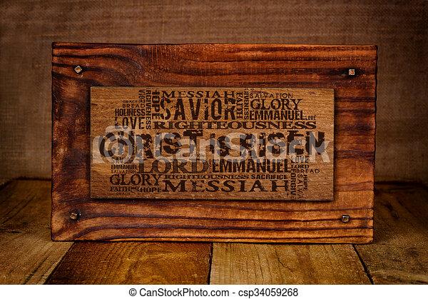 Christ Is Risen  - csp34059268
