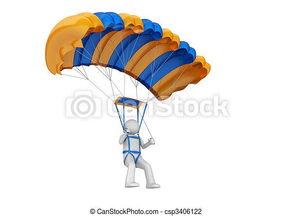 Paratrooper - csp3406122