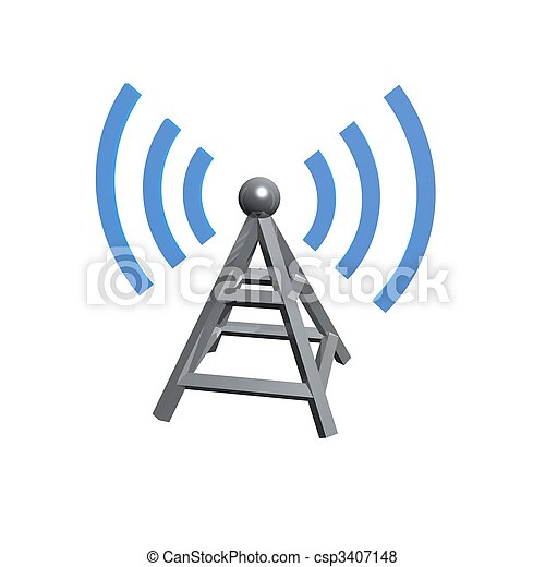 Wireless tower - csp3407148