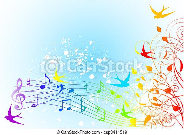 Spring song - csp3411519