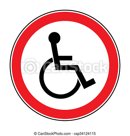 for the disabled - csp34124115
