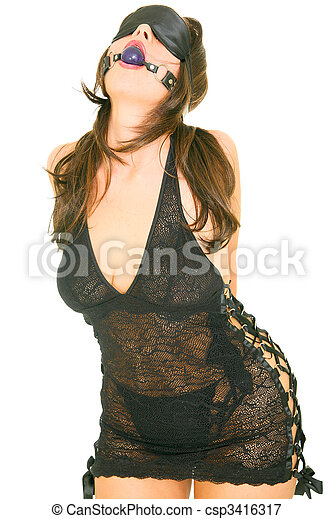 Blind Dominatrix Girl - csp3416317