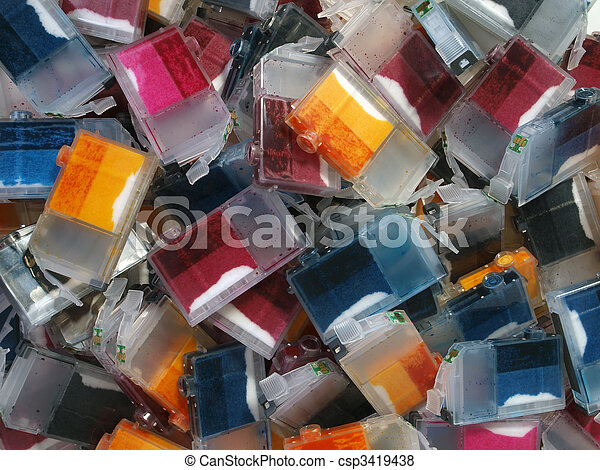 Ink Cartridge Mountain - csp3419438