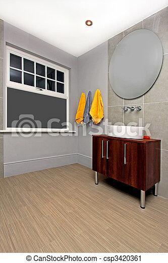 Stock de fotos ordenado cuarto de ba o imagenes for Cuarto ordenado y limpio