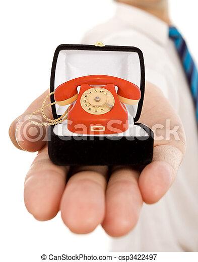 よい, ビジネス コミュニケーション, -, 約束, 価値 - csp3422497