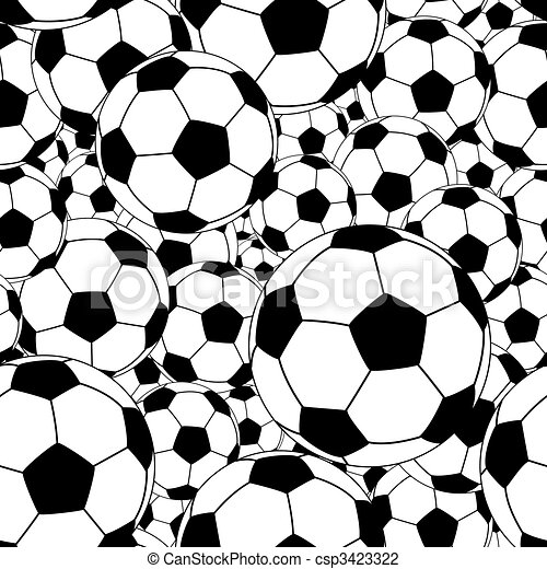 Soccer ball tile - csp3423322