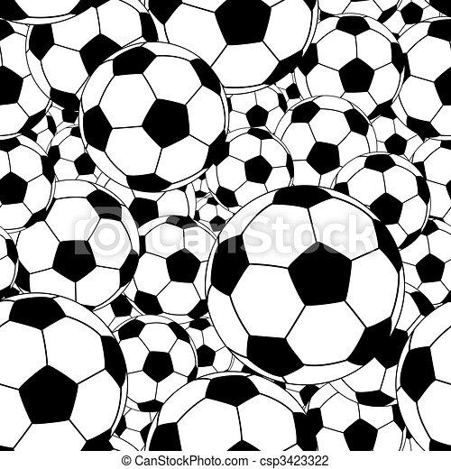 Soccer ball tile - csp3423322