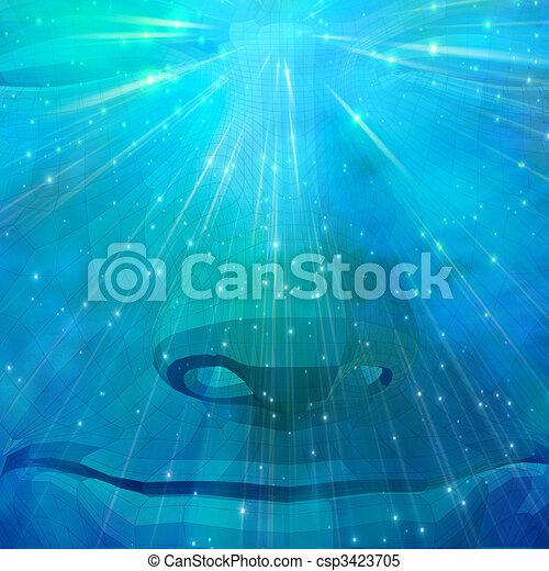 Spiritual Stone - csp3423705