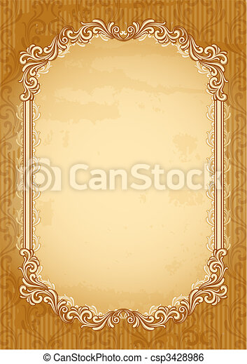 old-fashioned background - csp3428986