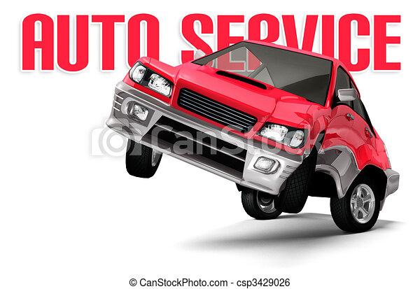 Auto Service Concept - csp3429026