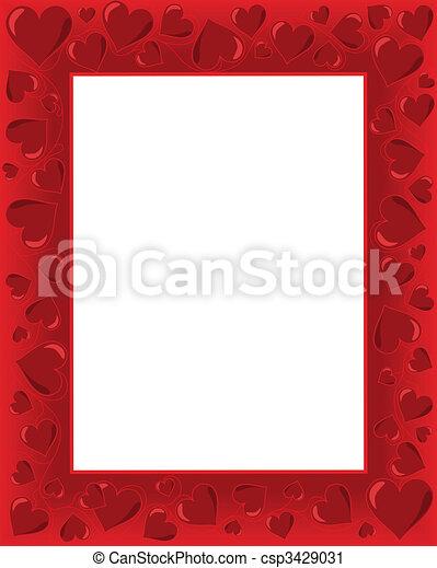 Valentines Card - csp3429031
