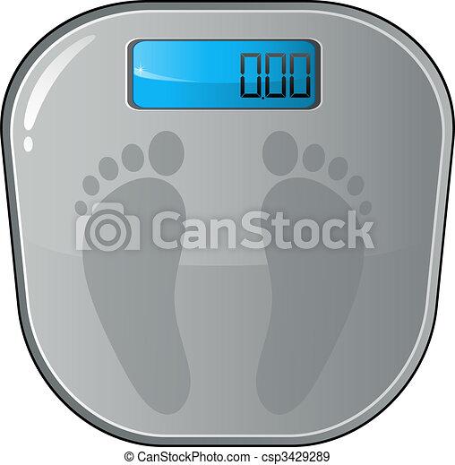 Floor electronic scales - csp3429289