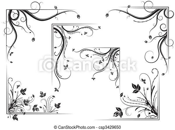 Floral corner set - csp3429650