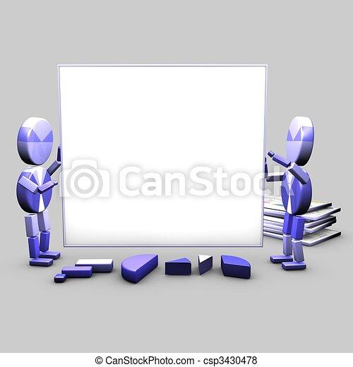 Presentation assitants - csp3430478