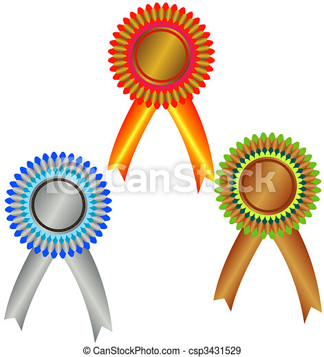 Champion medals - csp3431529