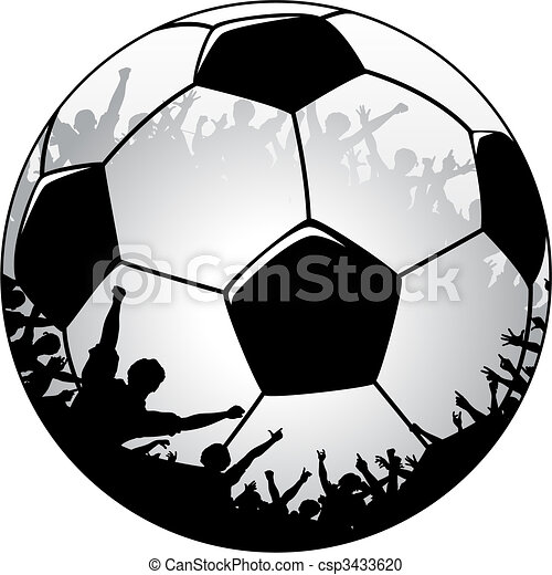 Football crowd - csp3433620