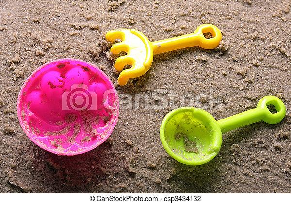 Sandbox toys - csp3434132